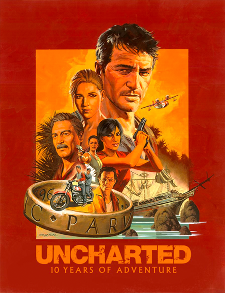 This is an anniversary print of Uncharted illustrated by the legendary artist Paul Mann. It was released through iam8bit. I can't seem to find their store page for it anymore so I don't know the run information but it is an archival quality print. I got this early 2018 I believe or really late 2017.