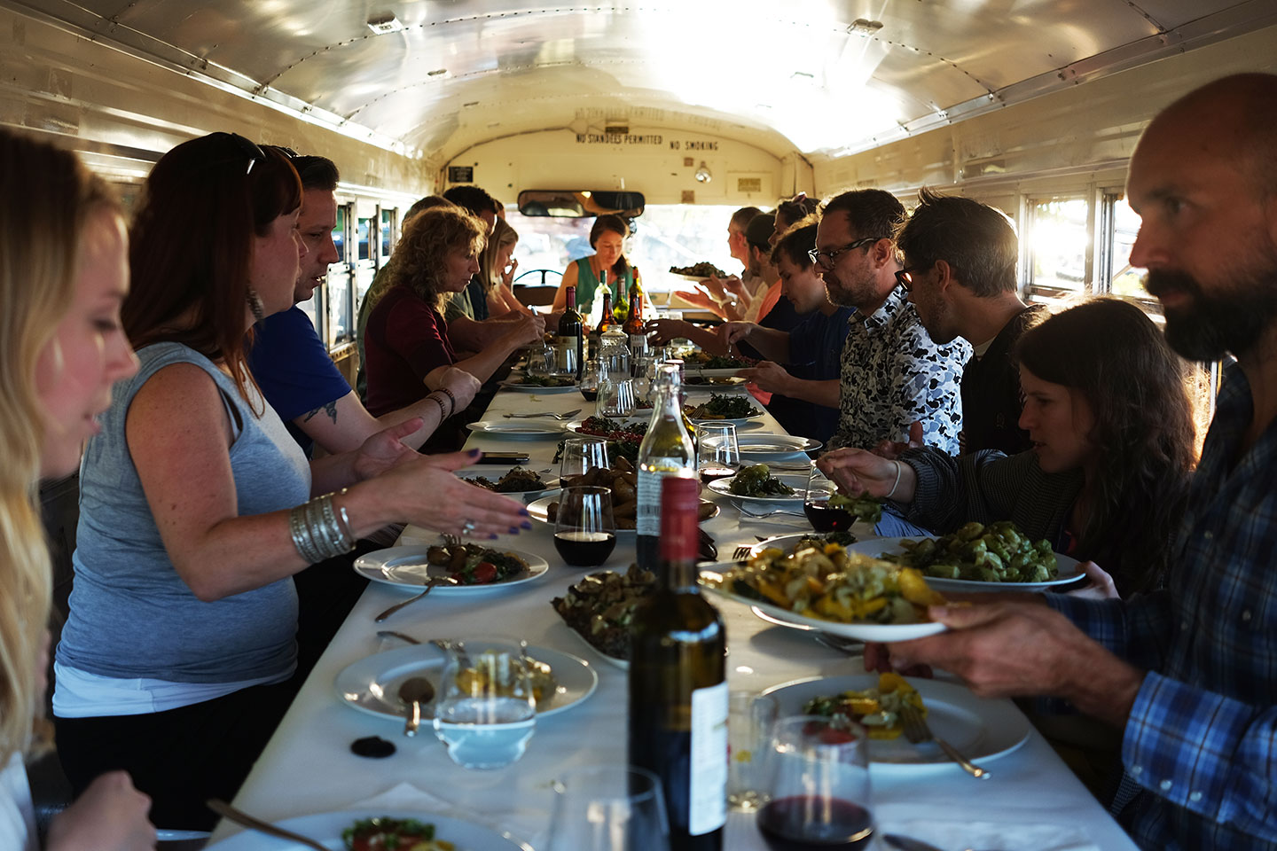 SiteFactory Dinner Party, June 3, 2016  Spanish Banks Beach Vancouver