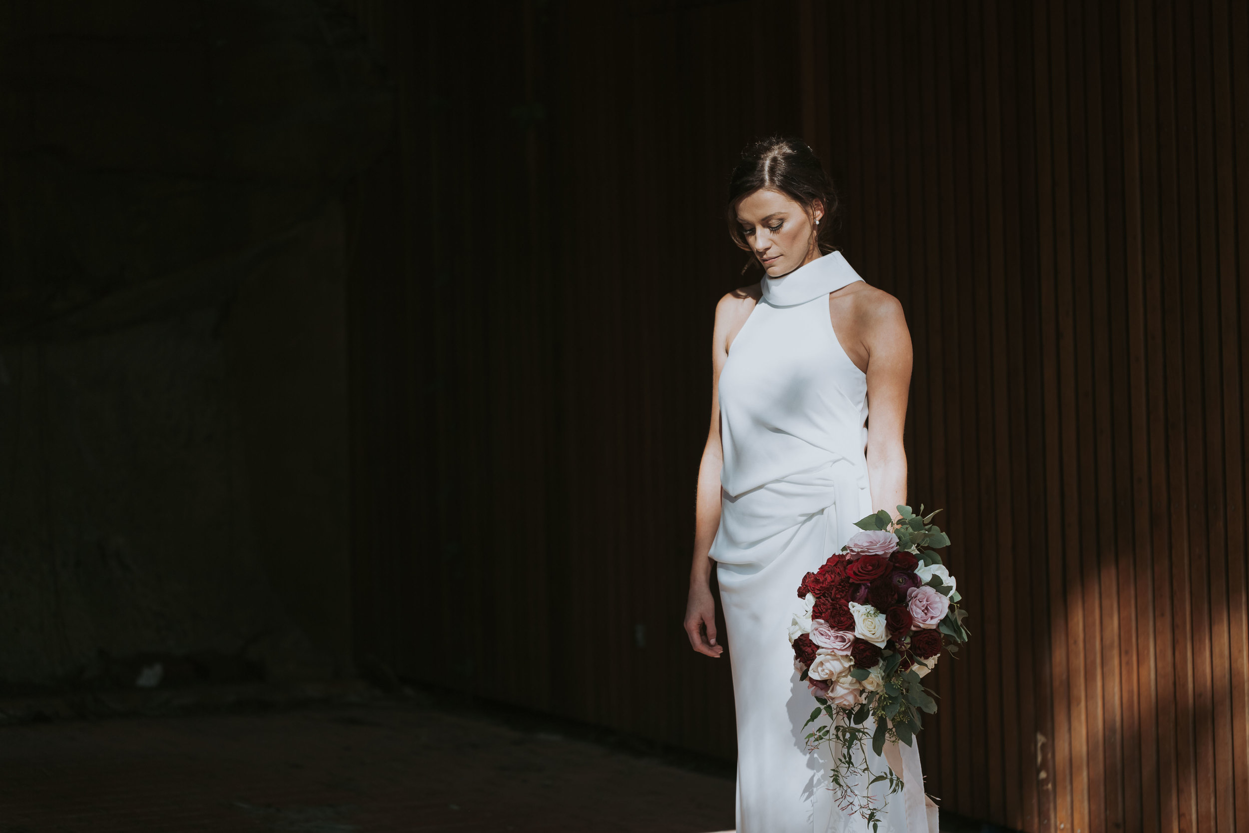 Beautiful, natural bride. Relaxed Sydney wedding photography.
