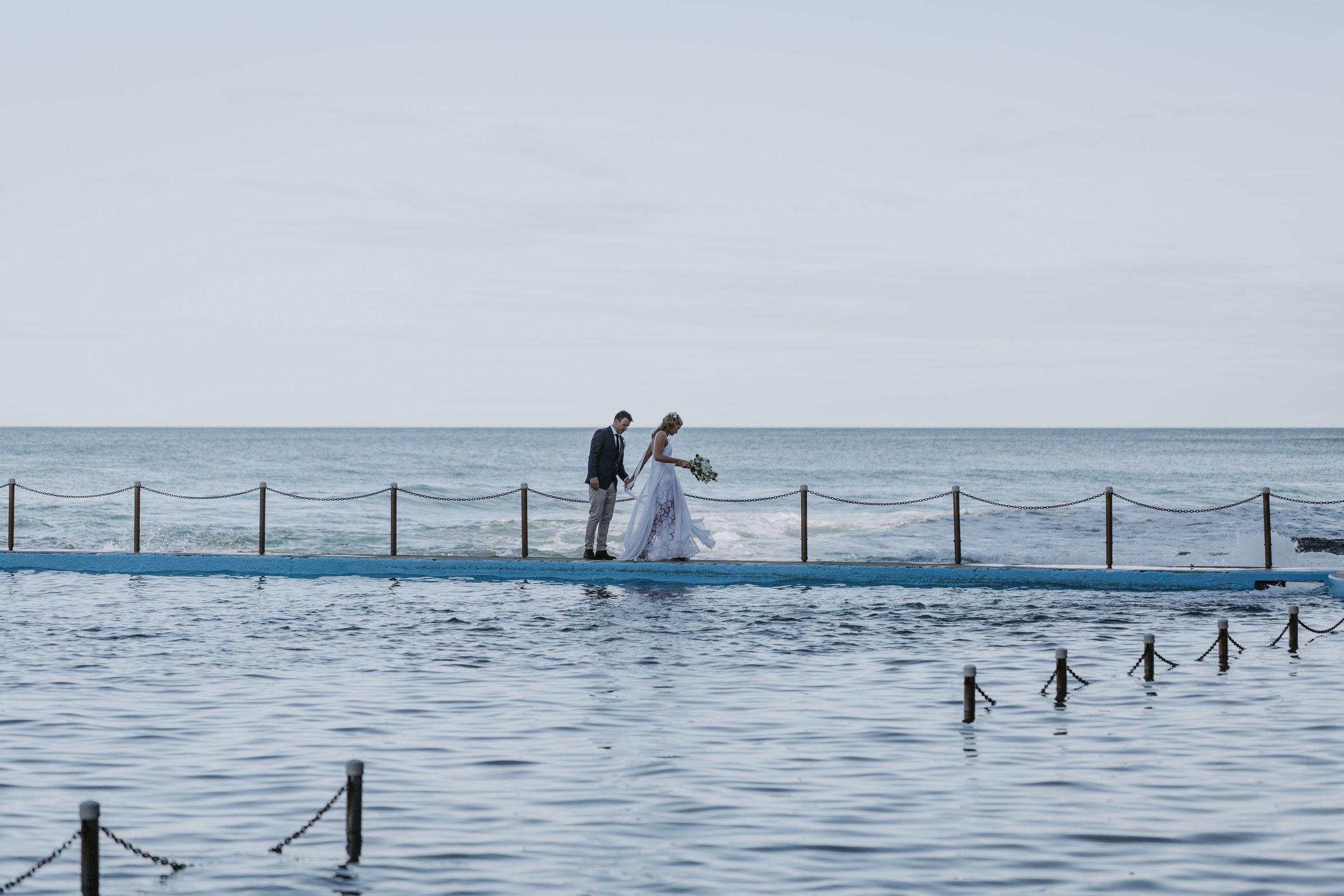 Erin & Sean's Bilgola Beach Wedding, Sydney
