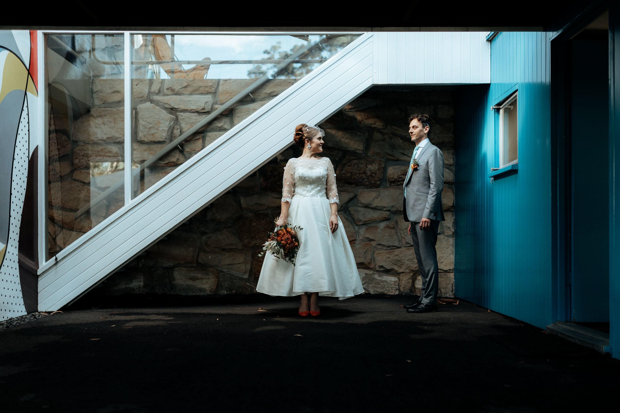 Rowena & Leandro's Rose Siedler House Wedding, Sydney