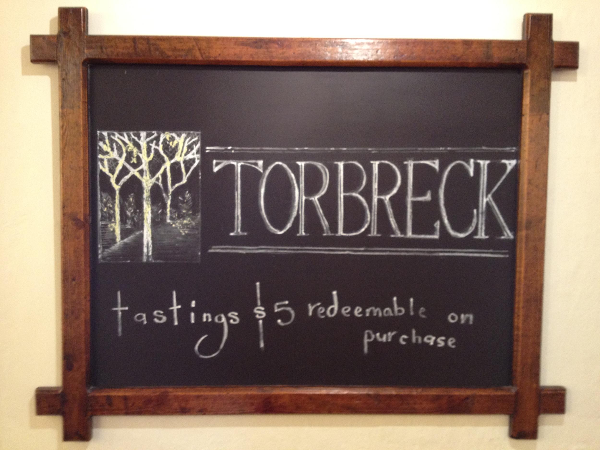 torbrek tastings.JPG