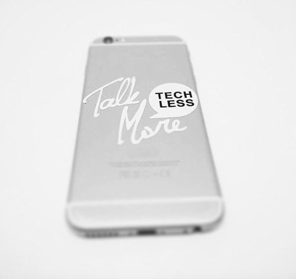 phone decal - talkmoretechless.com
