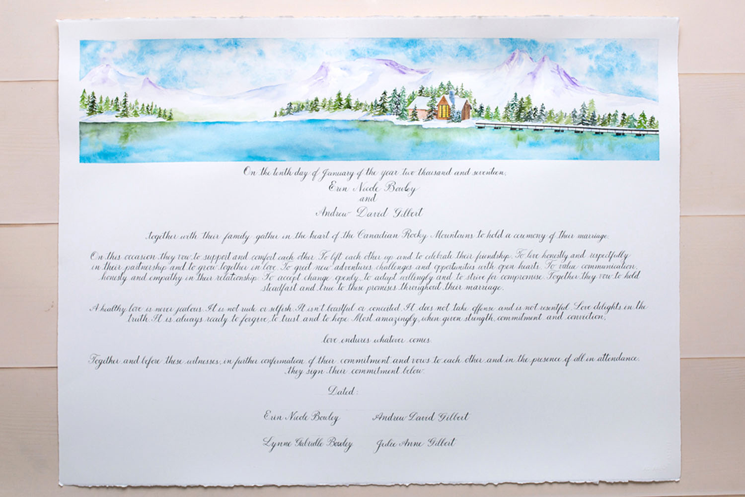 Emerald Lake wedding marriage certificate.jpg