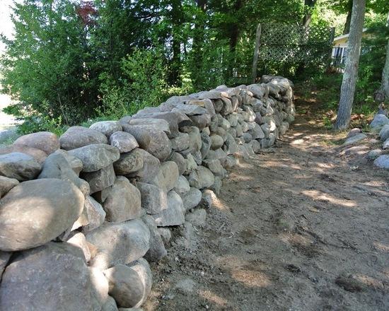 natural stone handmade wall