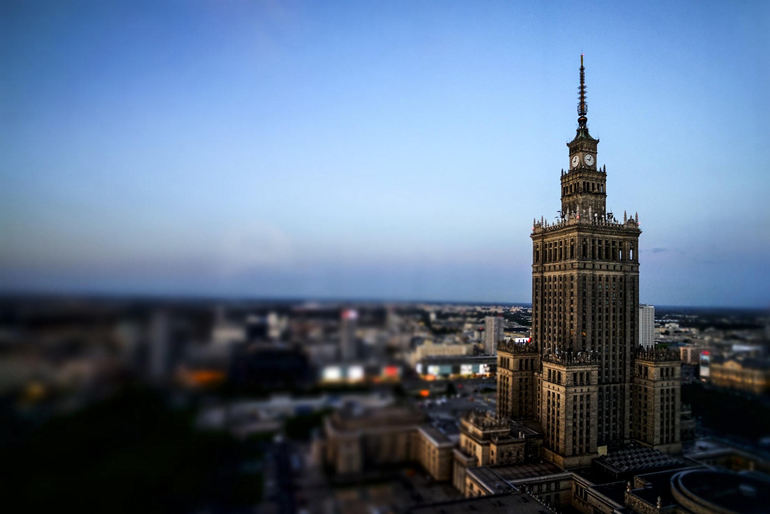 European Travel Guides Warsaw, Poland
