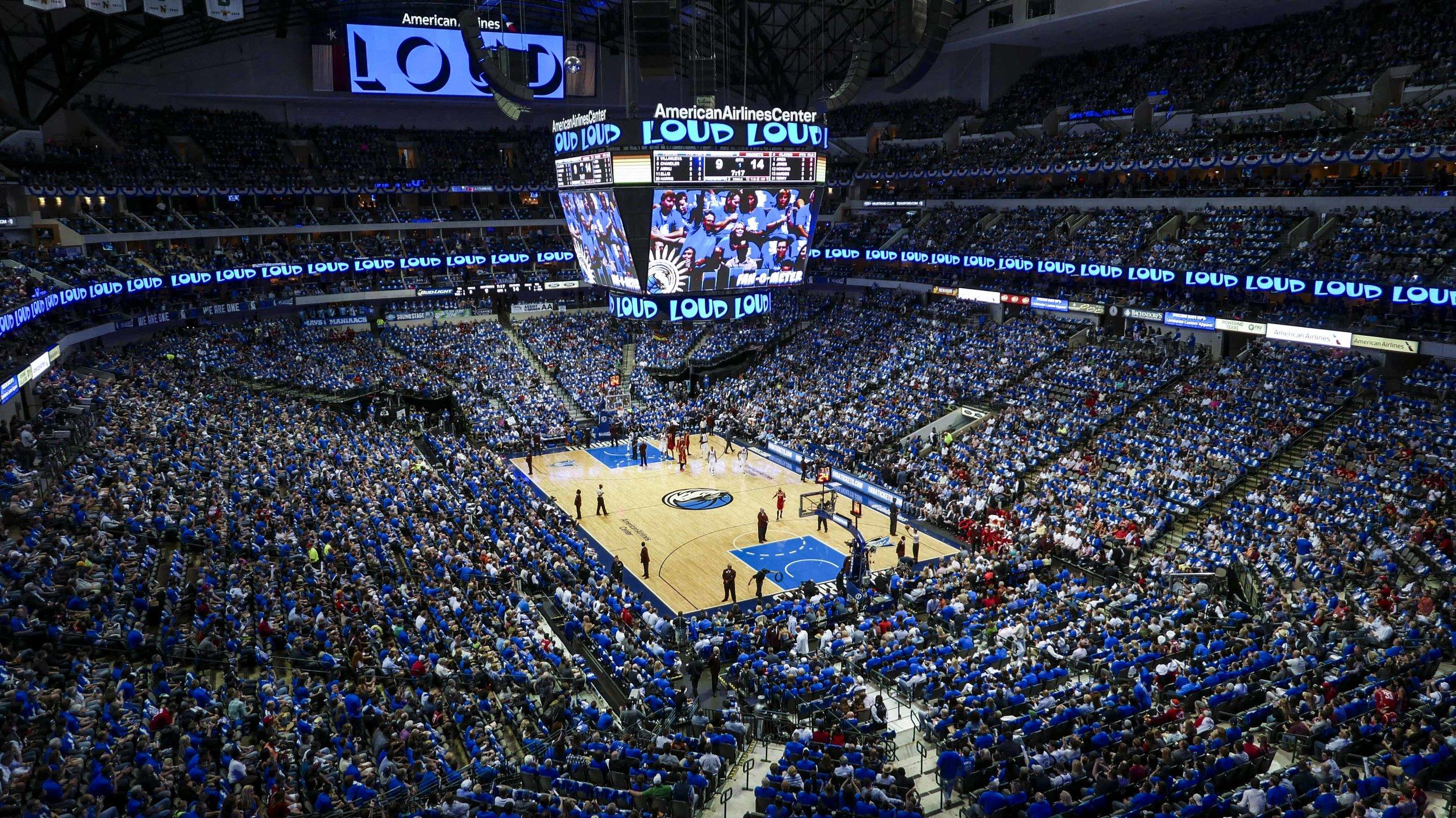 Dallas Mavericks, American Airlines Center Social Media