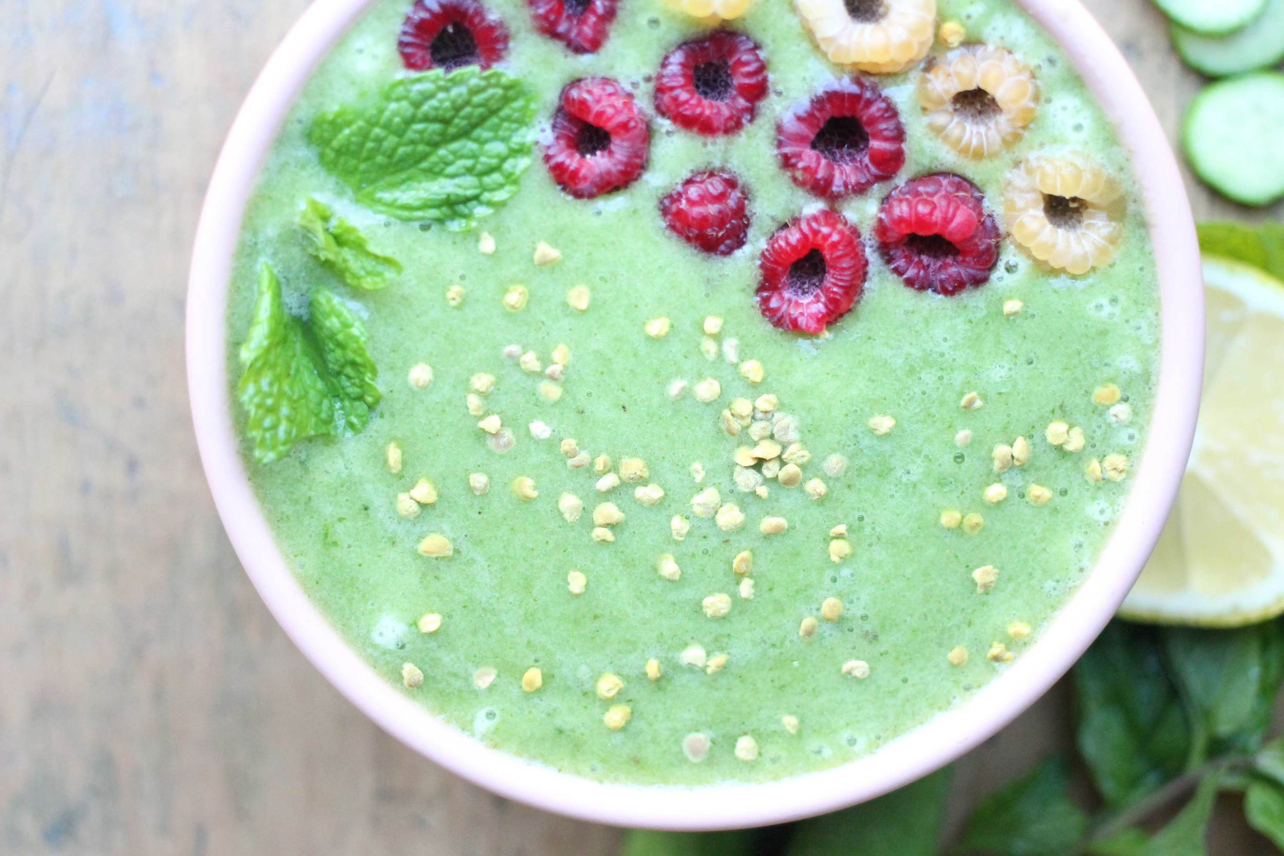 This refreshing smoothie is full of good things!