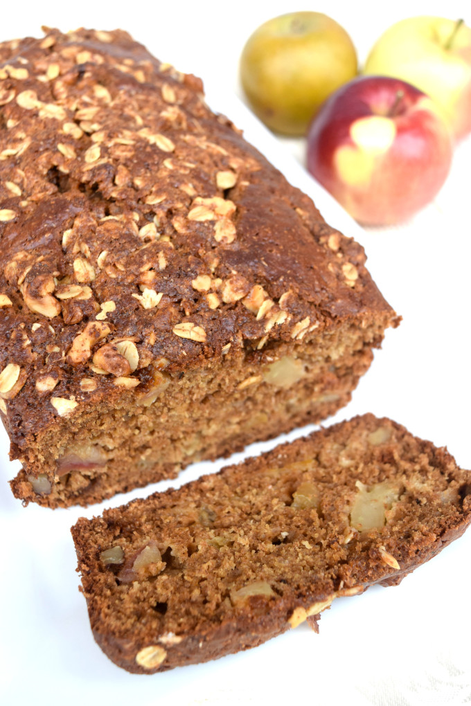 Gingerbread Apple Loaf By  The Nutritious Princess