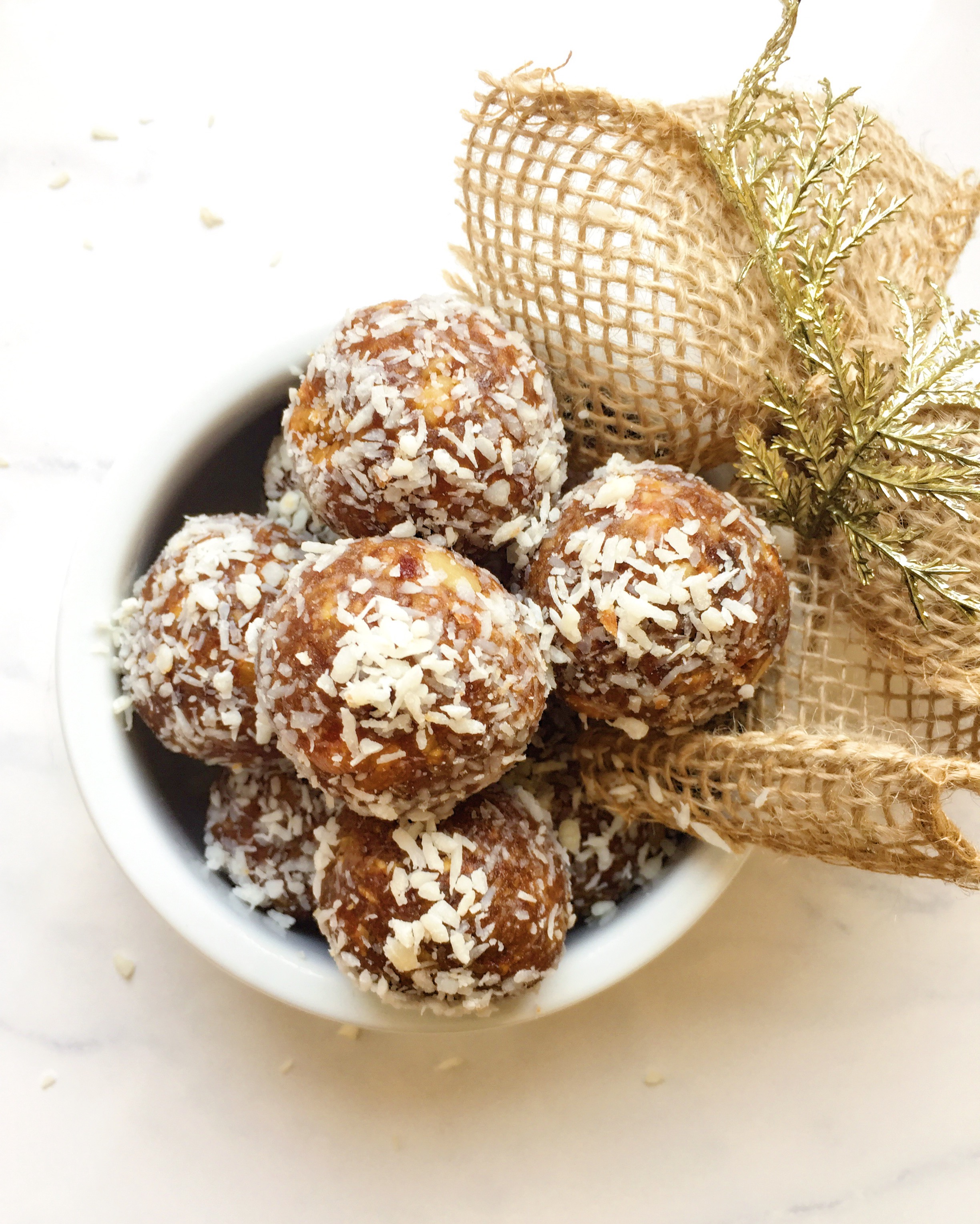 Healthy Gingerbread Bliss Balls By  The Dish On Healthy