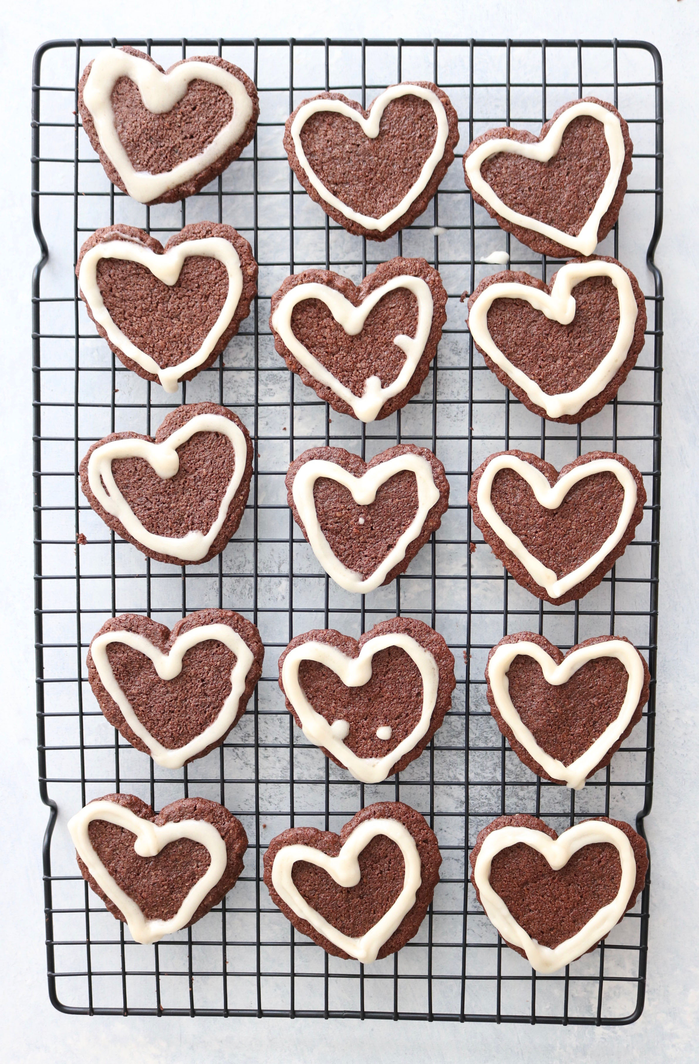 Chocolate Heart Cookies from Lindsay at The Toasted Pine Nut