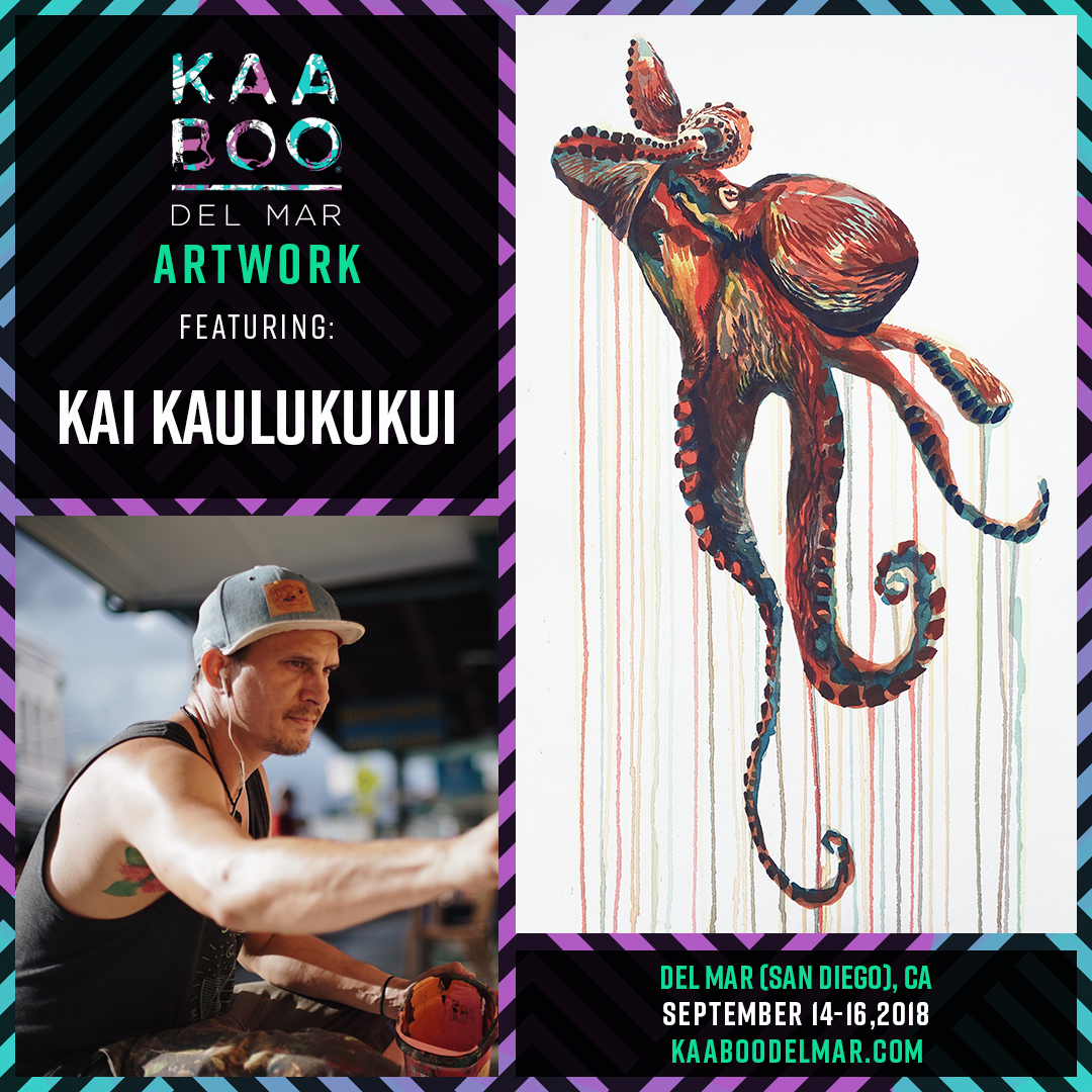 KAABOO - was created by music lovers for music lovers. An adult escape, uniquely curated to appeal to all five of your senses, with world-class music, hilarious comedy, inspiring contemporary art, gourmet cuisine, craft libations and personal indulgences.