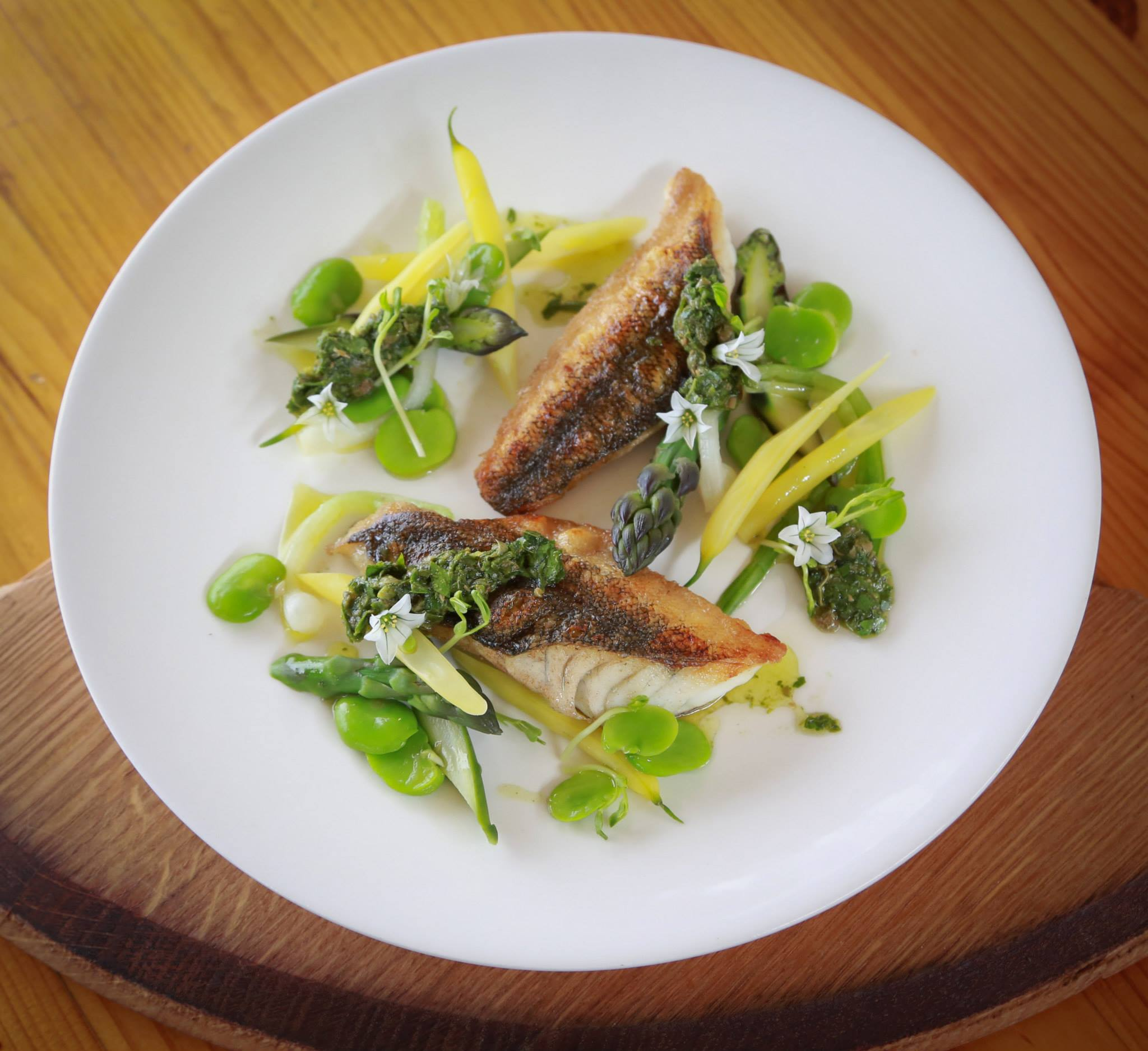 Whiting + Beans