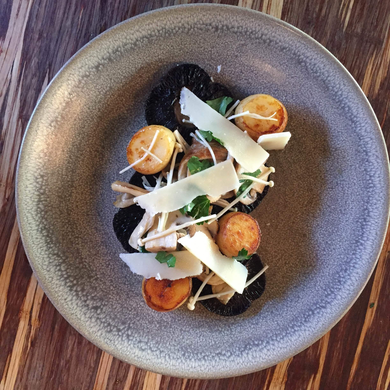 Seasonal Mushrooms + Potato