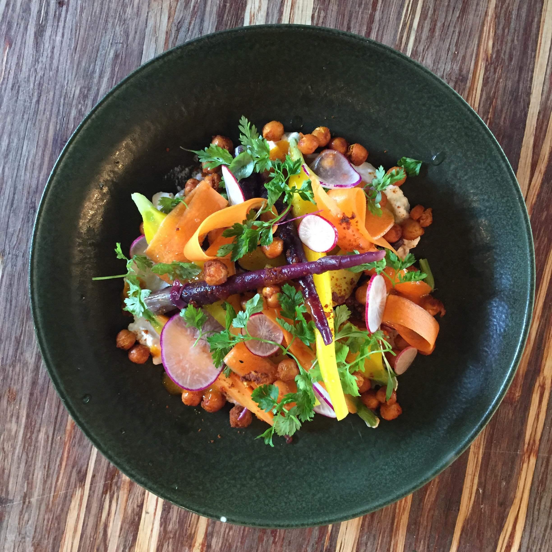 Hierloom Carrot Salad