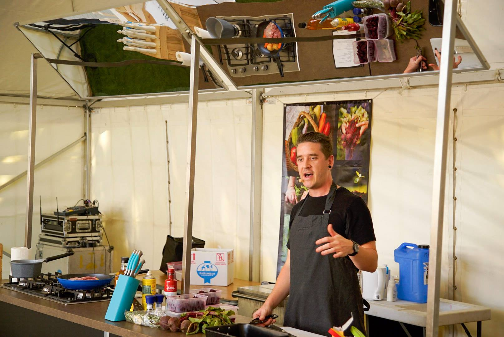 Workshops and Demos - We love speaking about sustainable food!We can come to your festival, event or workplace to teach about local food systems.Our workshops and demos are interactive, fun and exciting and include hands on practical advice on how to purchase, cook and eat more ethical food. We always include something delicious to eat as well...