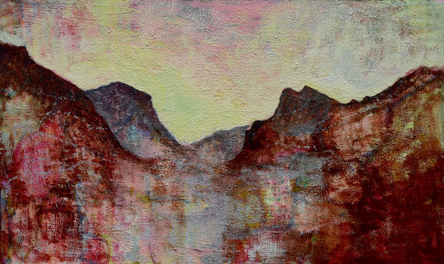 Valley Study in Red