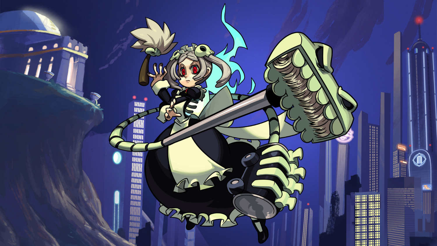 Apple feature art for  Skullgirls Mobile.  Art created in part by my art team and myself. © Hidden Variable / Autumn