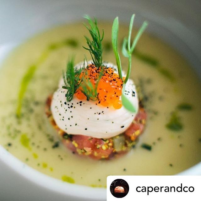 What a beautiful dish - made with Charlie's Trout. And very kind words from @caperandco too... #lovely #thankyou #workofart #chefsofinstagram #smokedtrout #thumbsup #delicious  Posted @withrepost • @caperandco  Nothing makes us happier @caperandberry than working with people who are passionate about what they do - we created this dish to showcase @charlies_trout - Charlie is a hero of a local food producers and @chefmattcrow worked with his amazing trout in this brilliant dish  #smokedtrout #chefs #localfood #eatlocal #instafood