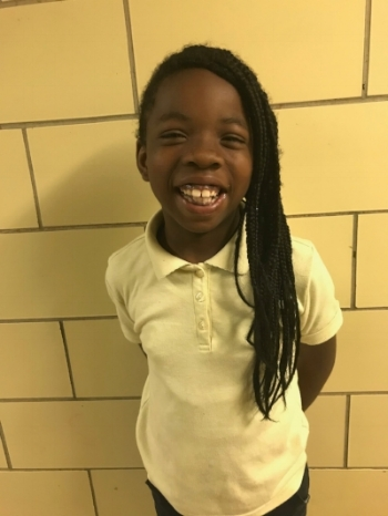 Aniyah Pulley is a fourth grade student at North Bend Elementary/Middle School. Aniyah wants to attend Towson University and become a teacher.