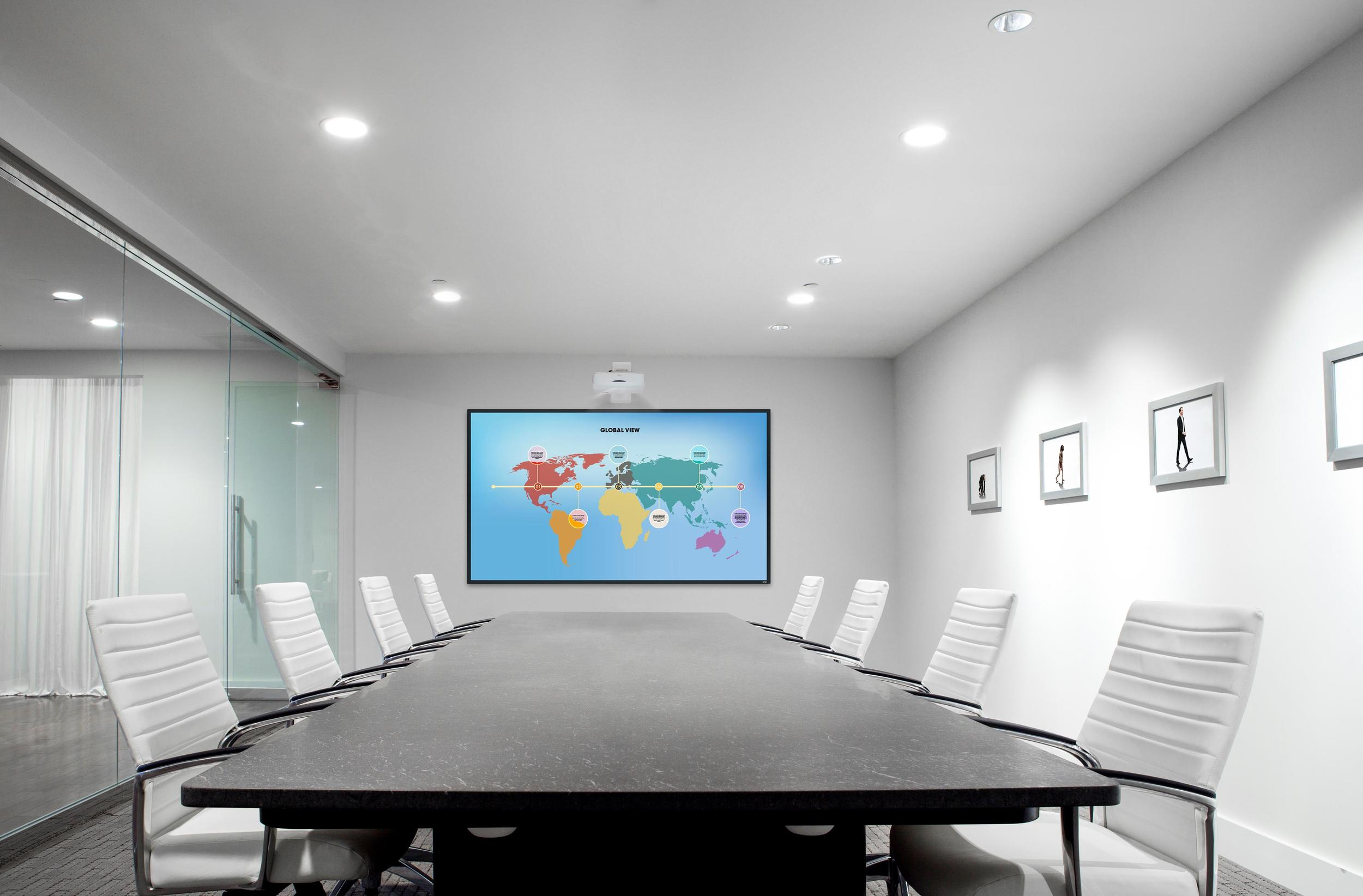 dnp LaserPanel Touch - meeting room