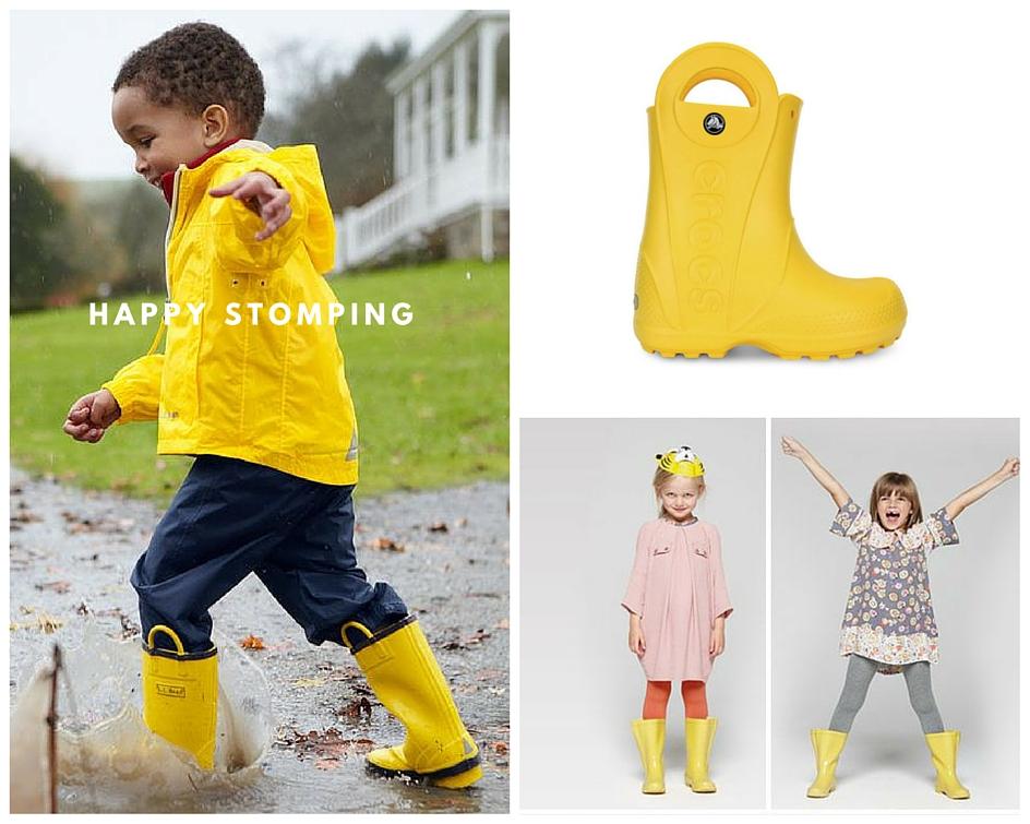 Brands / Images : Crocs / Aigle / Crushculdesac / Stella Mc Cartney / LL Bean / Pinterest