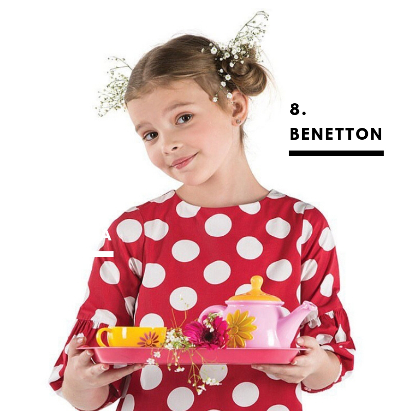 8. Benetton. For the quirky ones.