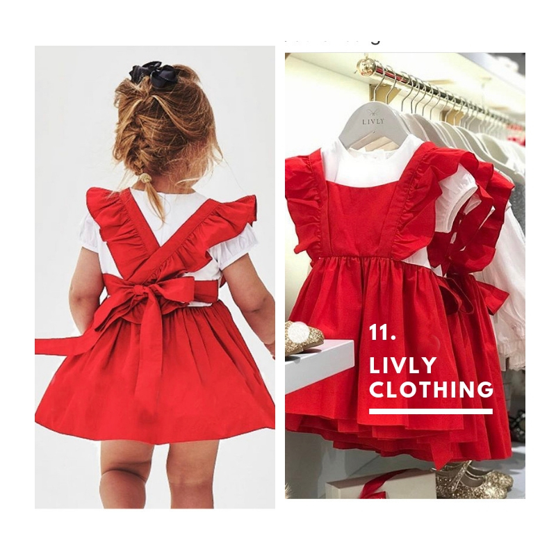 11. Livly Collection. Because even toddlers want to wear the colour of the season.