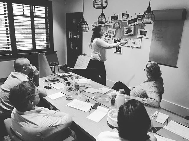 The tadaaaa moment during a brand ID workshop #brandid #marketing #branding #cincstagram