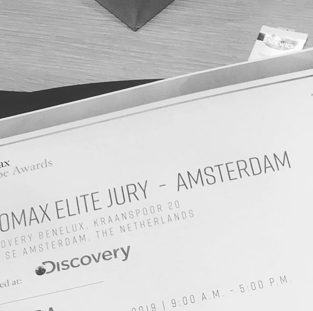 Last week I joined the jury for @promax_global Europe Awards.  Want to see the best-of-the-best in Entertainment Marketing strategy and design? You need to attend Promax Europe for lots of inspiration.  #Promax #PromaxEurope #PromaxAwards #Amsterdam #EntertainmentMarketing #MarketingEvent #Networking #Agency #Design
