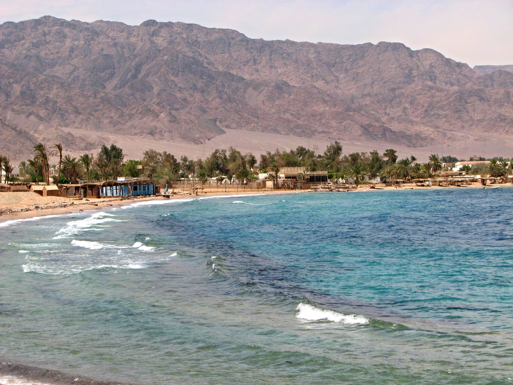 Nuweiba, near to the town
