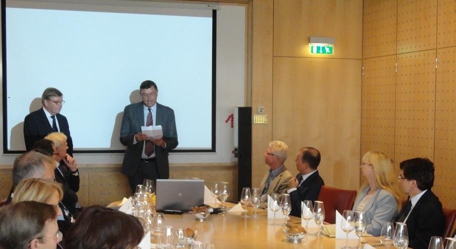 Ambassadør Per Poulsen-Hansen samt Handels- og udviklingsminister Mogens Jensen
