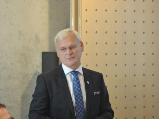 Hubert Ludwig, direktør DVZ