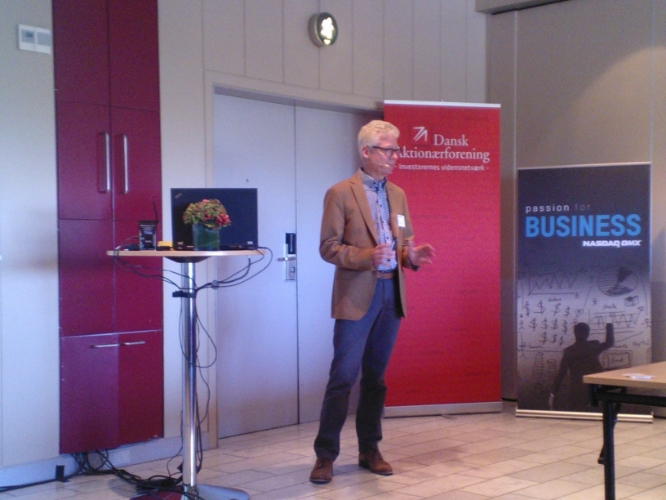 cBrains CEO og stifter Per Tejs Knudsen.