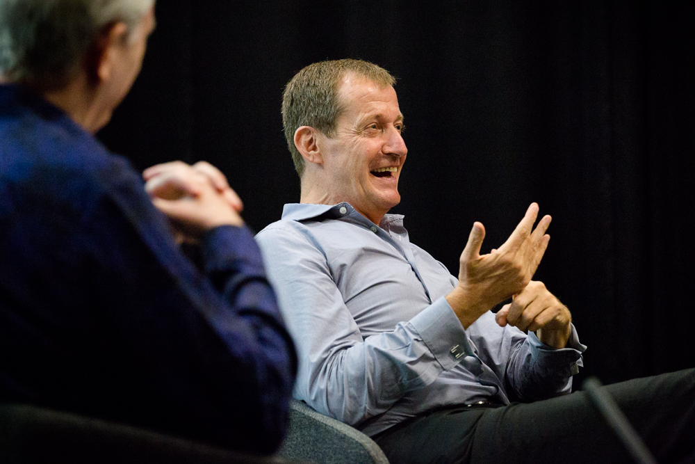 Alastair Campbell in conversation with City Lit Principal, Mark Malcomson