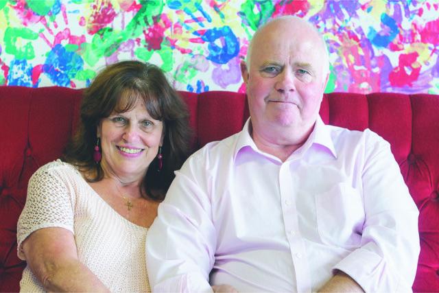 Margaret and Barry Mizen