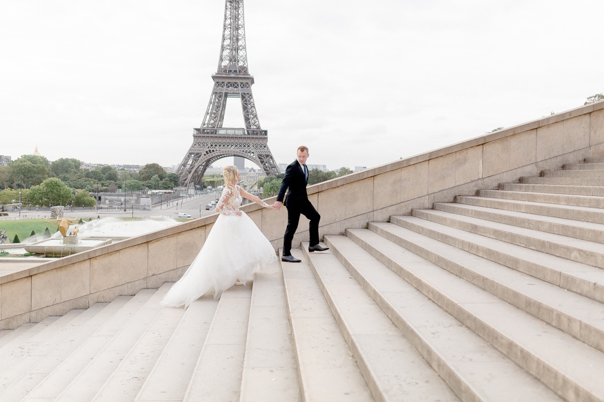 photographe paris trocadero couple