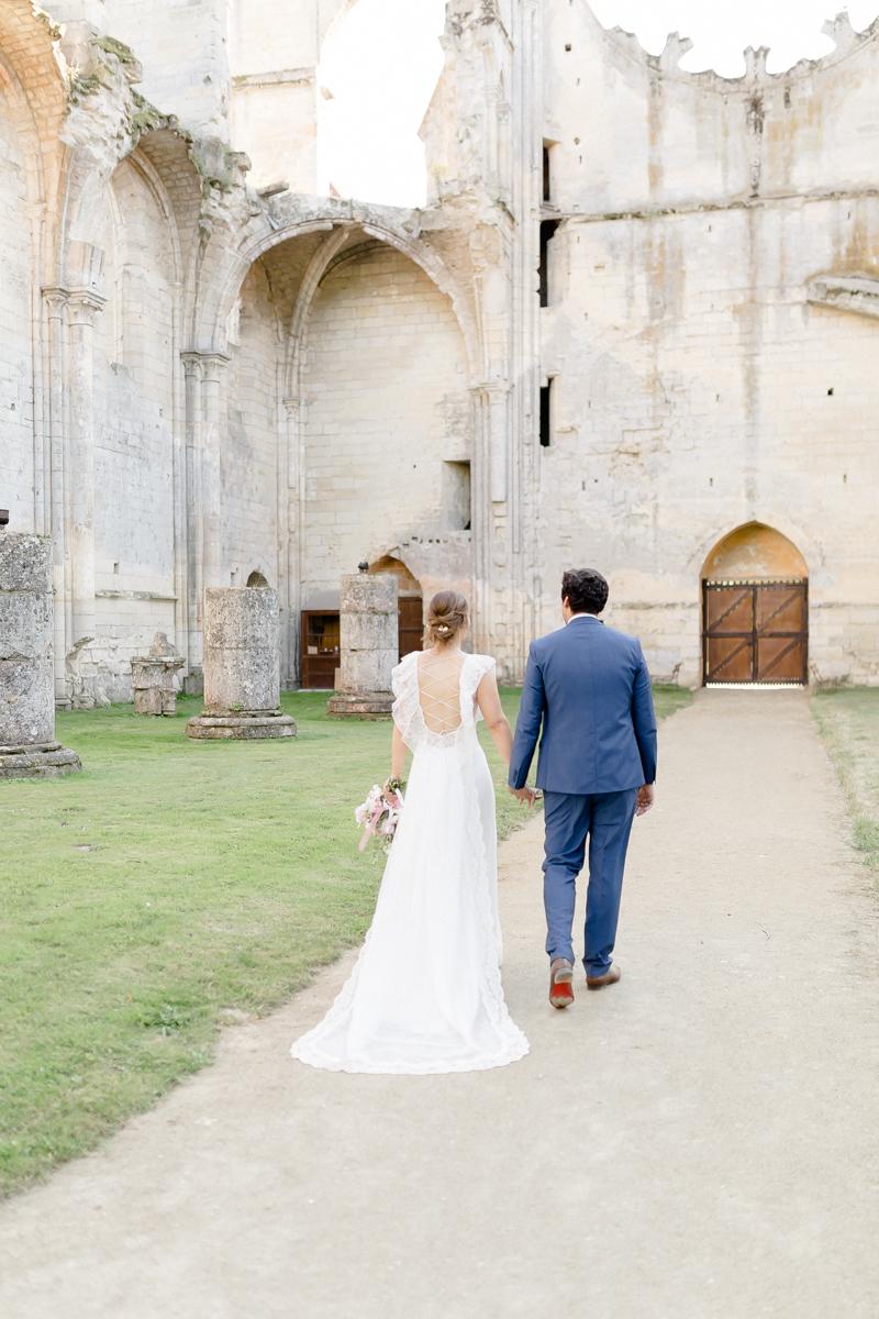 mariage abbaye de longpont photographe aisne et yvelines