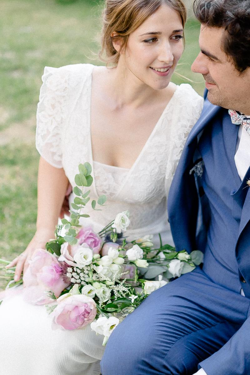 photographe abbaye de longpont mariage