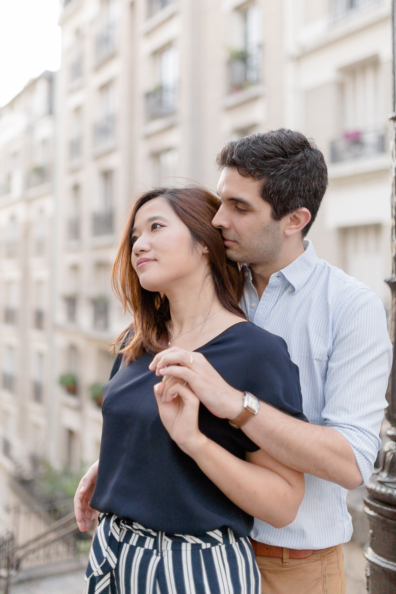 Photographe couple sacré coeur paris