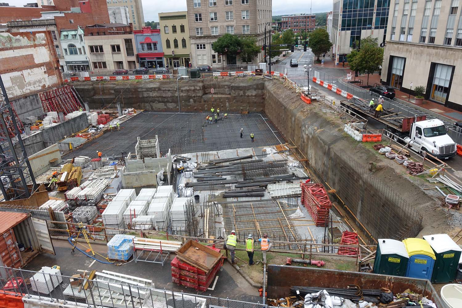 Downtown Durham Construction Update