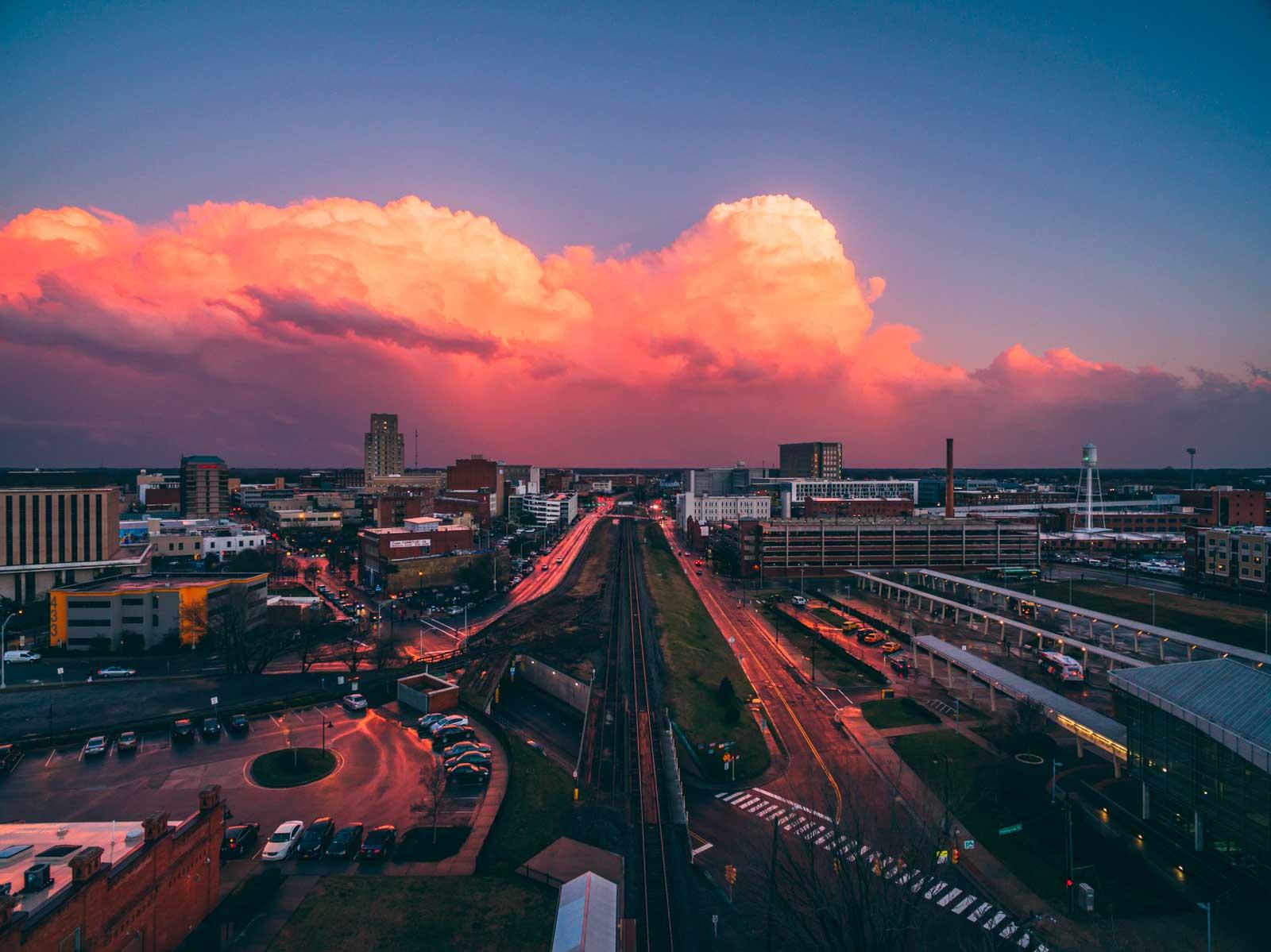 Downtown Durham NC