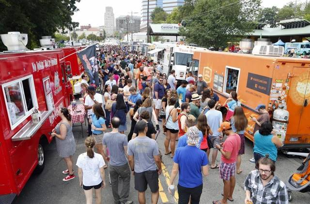 Durham S Food Truck Rodeo One City Center
