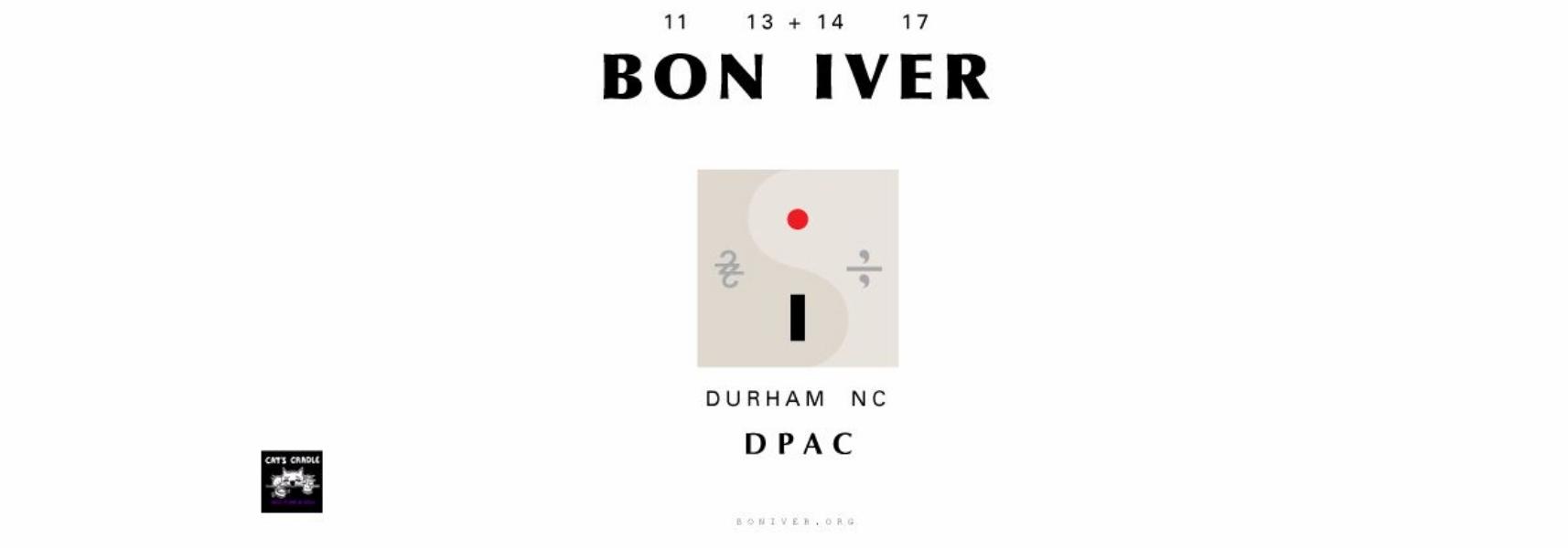 Bon Iver DPAC