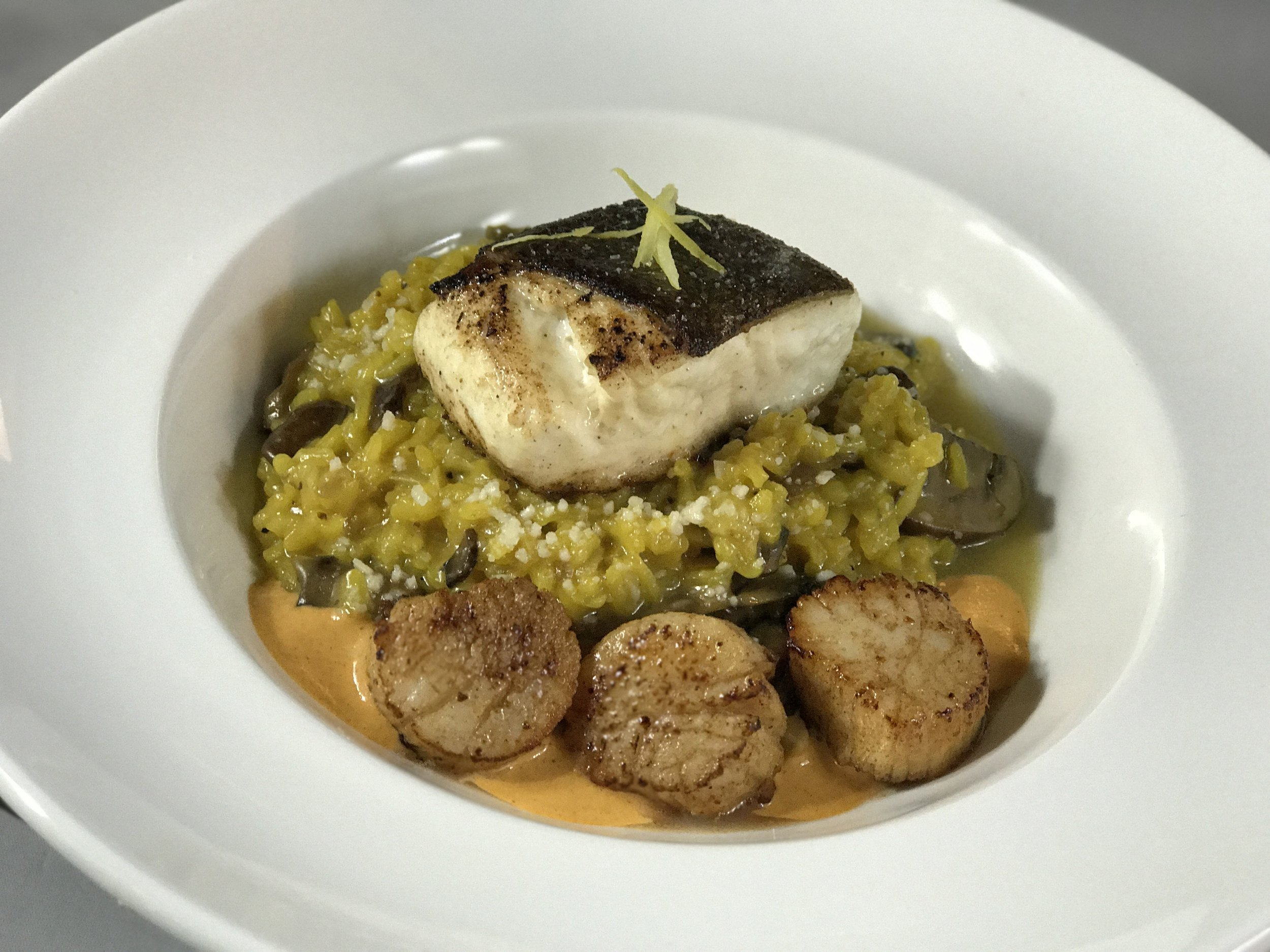 day boat halibut + viking village scallops