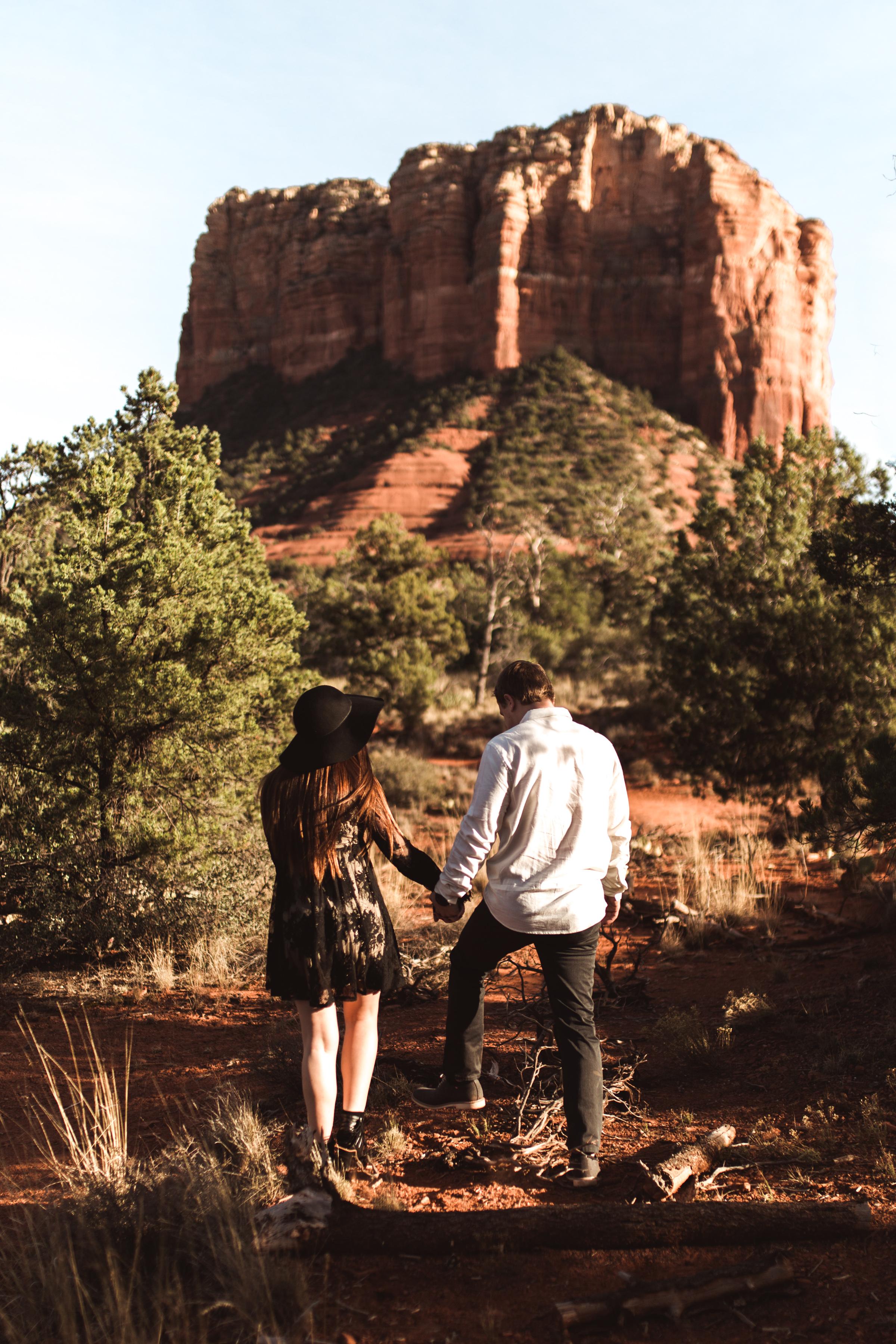 Sedona Arizona Engagement