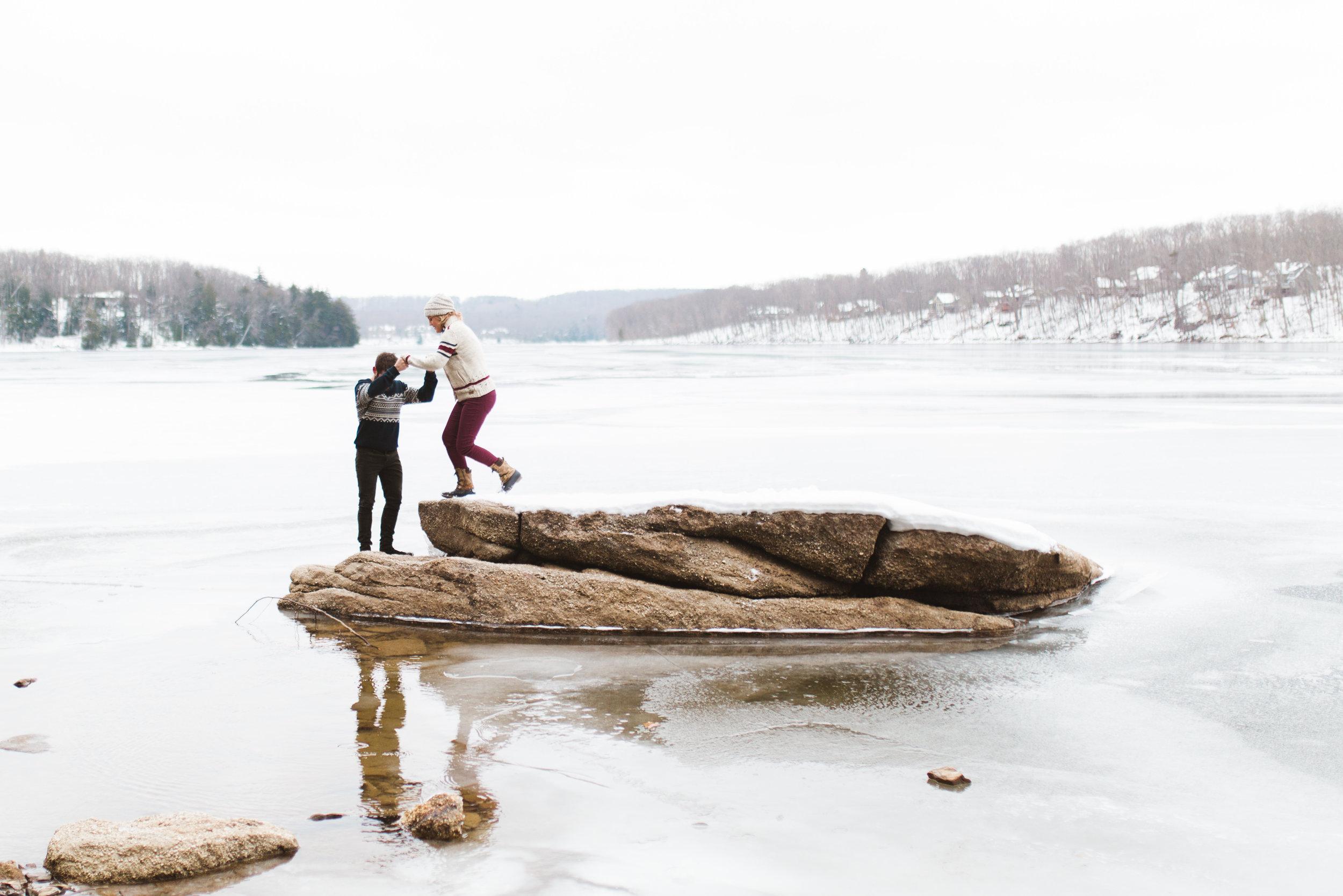 Deep Creek Lake Couple Session