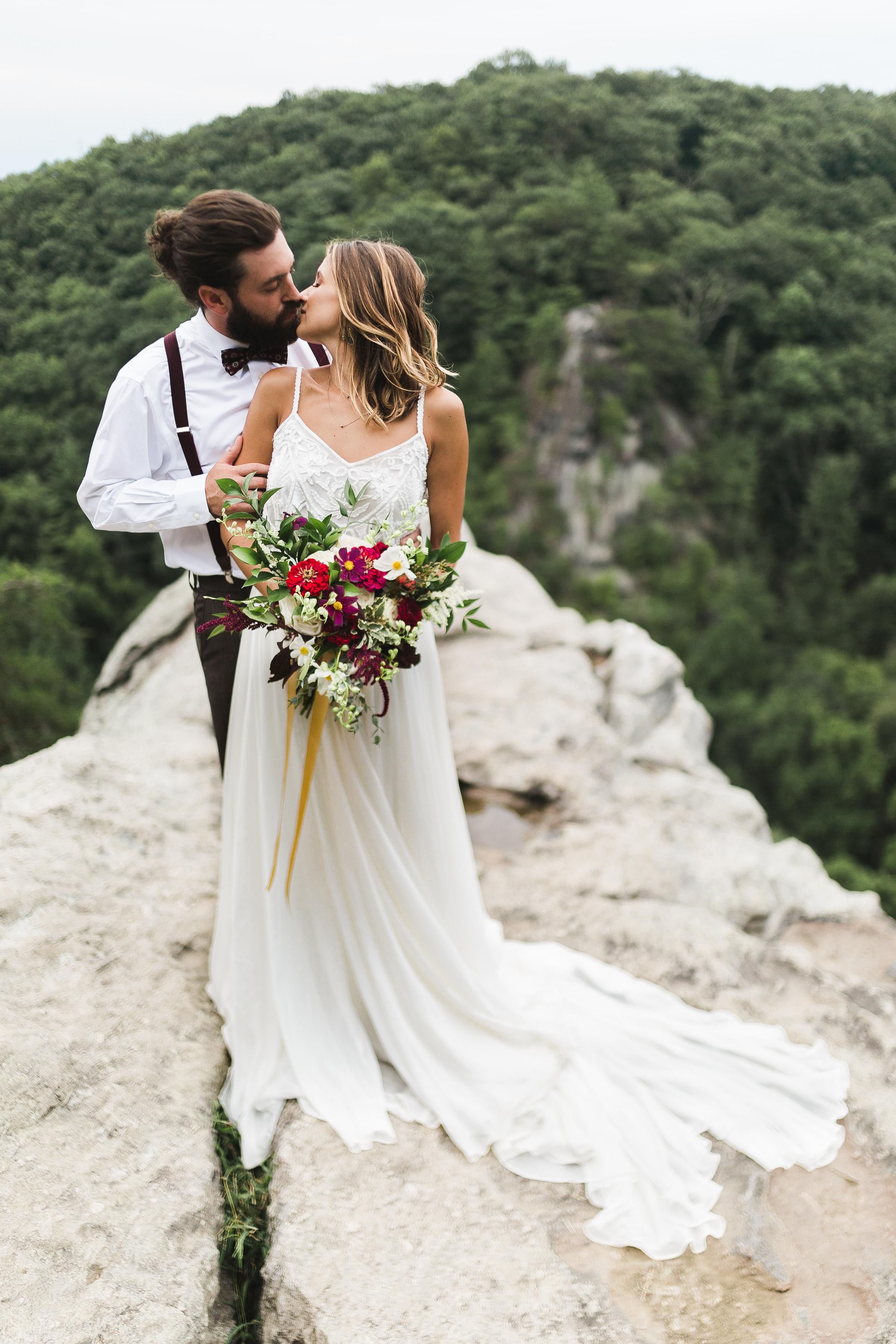 cliff elopement