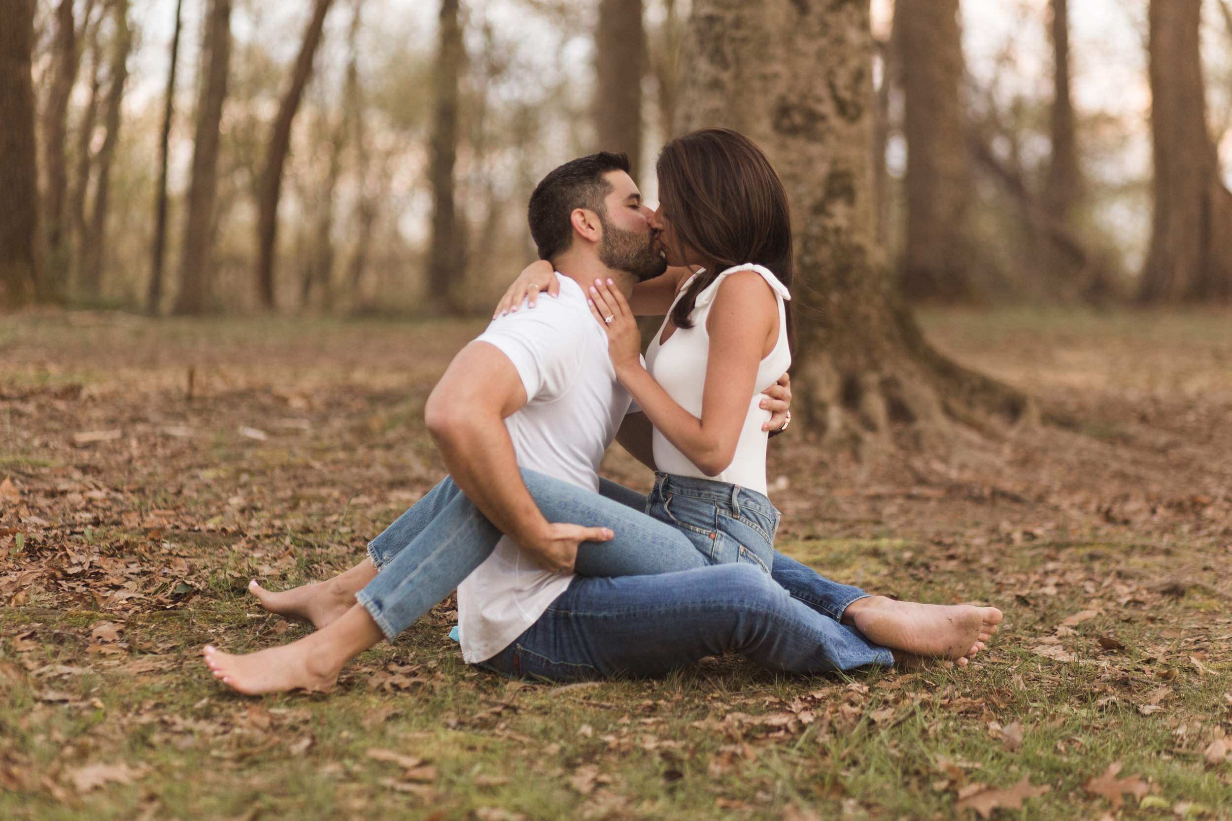 a Spring Engagement Session | Forest Hill, Maryland