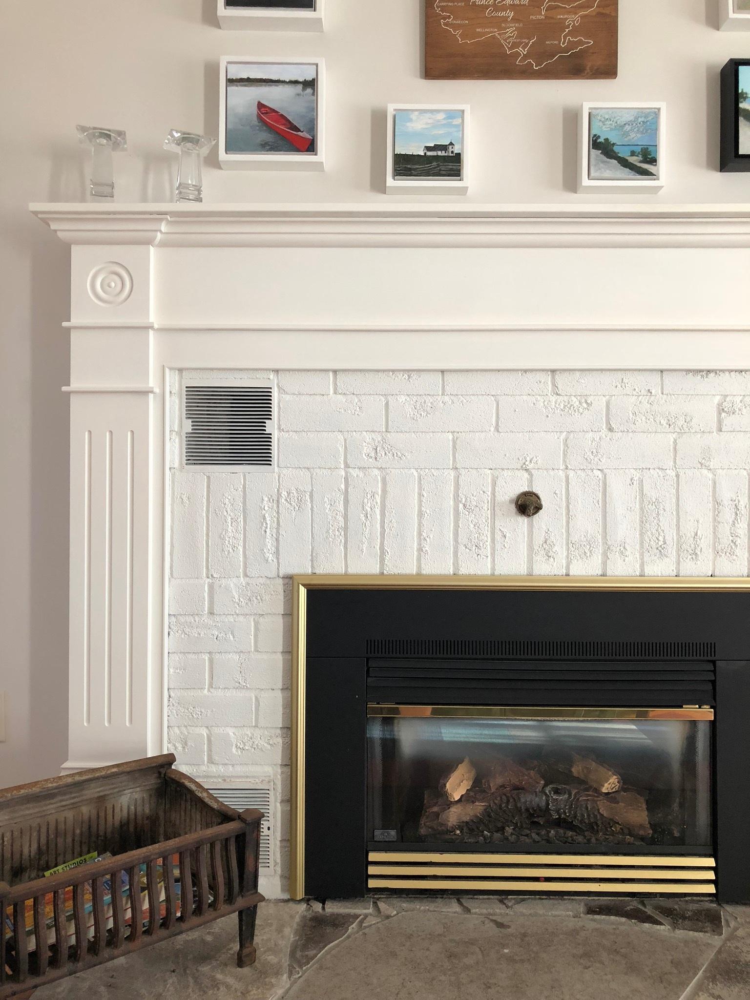 Hudson House Fireplace
